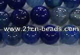 CAA1063 15.5 inches 10mm round dragon veins agate beads wholesale