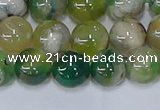 CAA1092 15.5 inches 8mm round sakura agate gemstone beads