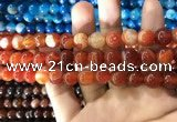 CAA1569 15.5 inches 10mm round banded agate beads wholesale