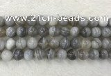 CAA1806 15.5 inches 16mm round banded agate gemstone beads