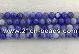 CAA1944 15.5 inches 12mm round banded agate gemstone beads