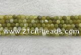 CAA1951 15.5 inches 6mm round banded agate gemstone beads