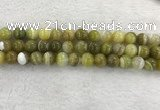 CAA1954 15.5 inches 12mm round banded agate gemstone beads