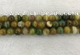 CAA1964 15.5 inches 12mm round banded agate gemstone beads