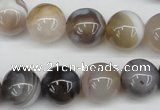 CAA227 15.5 inches 14mm round botswana agate gemstone beads