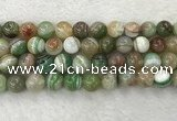 CAA2306 15.5 inches 16mm round banded agate gemstone beads