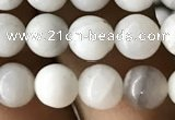CAA2341 15.5 inches 6mm round white crazy lace agate beads wholesale