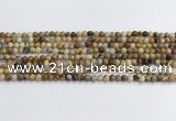 CAA2348 15.5 inches 4mm round crazy lace agate beads wholesale