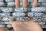 CAA2703 15.5 inches 14*38mm - 16*43mm rice tibetan agate dzi beads