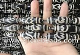 CAA2720 15.5 inches 14*38mm - 16*43mm rice tibetan agate dzi beads