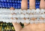 CAA3360 15 inches 10mm faceted round agate beads wholesale