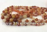 CAA3540 15.5 inches 6mm - 14mm round agate graduated beads