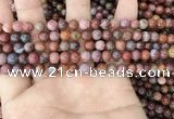 CAA3620 15.5 inches 4mm round Portuguese agate beads wholesale