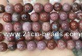 CAA3624 15.5 inches 12mm round Portuguese agate beads wholesale