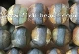 CAA3843 15 inches 6mm round tibetan agate beads wholesale