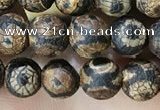 CAA3848 15 inches 6mm round tibetan agate beads wholesale