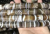 CAA3948 15.5 inches 15*18mm tube Madagascar agate beads wholesale