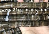 CAA3949 15.5 inches 15*18mm tube Madagascar agate beads wholesale