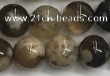 CAA3971 15.5 inches 8mm round sakura agate gemstone beads