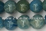 CAA3977 15.5 inches 6mm round chrysanthemum agate beads