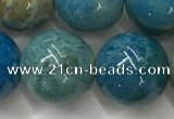 CAA3981 15.5 inches 14mm round chrysanthemum agate beads
