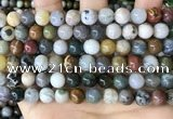 CAA4922 15.5 inches 8mm round ocean agate beads wholesale