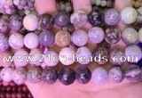 CAA4943 15.5 inches 12mm round bamboo leaf agate beads wholesale