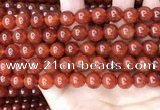 CAA4949 15.5 inches 10mm round red agate beads wholesale
