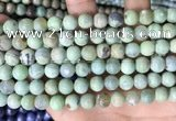 CAA4970 15.5 inches 8mm round agate gemstone beads wholesale