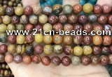 CAA5134 15.5 inches 8mm round natural chrysotine beads wholesale