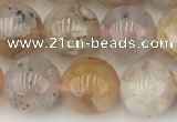 CAA5282 15.5 inches 10mm round sakura agate gemstone beads