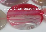 CAA918 15.5 inches 30*40mm oval agate gemstone beads