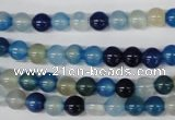 CAA930 15.5 inches 6mm round agate gemstone beads