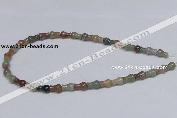 CAB465 15.5 inches 8*12mm vase-shaped indian agate gemstone beads