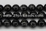 CAE04 15.5 inches 10mm round astrophyllite beads wholesale