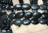 CAE301 15.5 inches 15*20mm oval astrophyllite beads wholesale