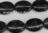 CAE58 15.5 inches 15*20mm oval astrophyllite beads wholesale