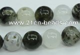 CAG1688 15.5 inches 12mm round ocean agate beads wholesale