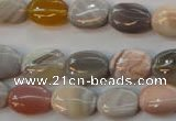 CAG2358 15.5 inches 10*14mm oval African botswana agate beads