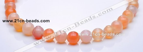 CAG266 15 inch round 13mm agate gemstone beads Wholesale