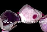 CAG333 rough agate gemstone nugget shape beads Wholesale