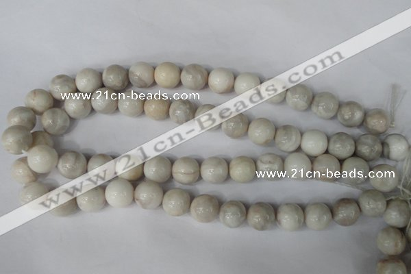 CAG3607 15.5 inches 16mm round natural crazy lace agate beads