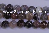 CAG4440 15.5 inches 8mm flat round botswana agate beads wholesale