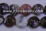 CAG4443 15.5 inches 14mm flat round botswana agate beads wholesale