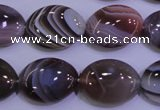 CAG4455 15.5 inches 15*20mm oval botswana agate beads wholesale