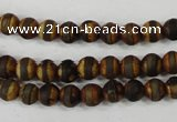 CAG4756 15 inches 6mm round tibetan agate beads wholesale
