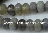 CAG4870 15.5 inches 9*13mm rondelle ocean agate gemstone beads