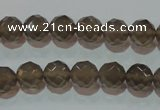 CAG5248 15.5 inches 10mm faceted round Brazilian grey agate beads