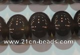 CAG5252 15.5 inches 15*20mm rondelle Brazilian grey agate beads