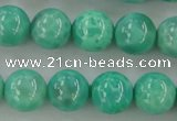 CAG5302 15.5 inches 8mm round peafowl agate gemstone beads